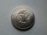 США 1 доллар 1971 S Эйзенхауэр / серебро, фото №6