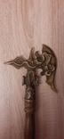 Секира парадная,бронза, фото №5