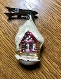 Ёлочная игрушка Избушка, фото №2