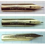 Перо чернильной ручки - Signature 1 (золотое-?), фото №6