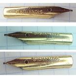 Перо чернильной ручки - Signature 1 (золотое-?), фото №7