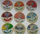 Коллекция Pokémon (Покемоны) фишки (вкладыши)., фото №12