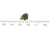 Імпактне тіло, тектит Moldavite, 0,51 грам із сертифікатом автентичності, фото №4