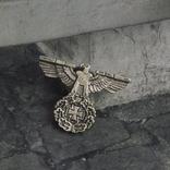 Винтажный крест брошь с орлом Реплика, фото №3