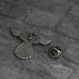 Винтажный крест брошь с орлом Реплика, фото №7
