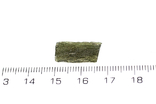 Імпактне тіло, тектит Moldavite, 0,56 грам із сертифікатом автентичності, фото №4
