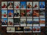Комплект открыток СССР. Советские спортсмены. Выпуск 2. 1973г., фото №8