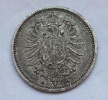 20 пфеннигов 1876 (А), Германия, серебро, фото №7