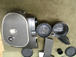 Кинокамера Кварц 2м в футляре, фото №6
