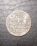3 гроша 1622 г.Сигизмунд 3.Ваза., фото №3