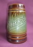 Кружка для пива Настоящий Budvar - БУДВАР крепкое пиво. Чехословакия 60-70е годы., фото №5