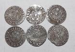 Солиды коронные 1625 кладовые (6 шт.) фото 2