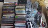 Около 50 аудиокассет, фото №2