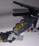 Вертолёт трансформер на запчасти длина 24 см., фото №5