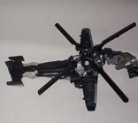 Вертолёт трансформер на запчасти длина 24 см., фото №8