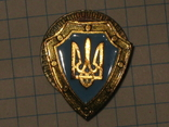 Знак щит с Тризубцем фото 3