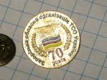Знак Запорізька обласна організація ТСО України фото 1
