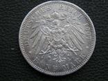 5 марок 1907 А Пруссия, фото №6