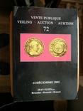 Каталог аукциона, Брюссель, 14 декабря 2002, фото №2