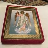 Современная икона Ангел Хранитель., фото №6