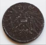 2 геллера 1917 г. Австрия, фото №3