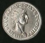 Кистофорная тетрадрахма Нерва серебро копия, фото №2
