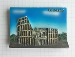 Магнит на холодильник Колизей, Рим, фото №2