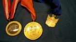 3-и медали, сувенирные., фото №6