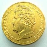 Франция 20 франков 1839 г., фото №2