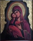 Икона БМ Владимирская, фото №7
