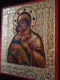 Икона БМ Владимирская, фото №4