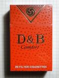 Сигареты  D & B Comfort RED