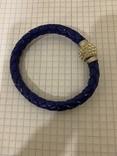 Плетеный браслет на магните, фото №2