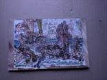 """""""Корабли"""" б.см.техн. 20х30. 1995 г. Сергей Тронов, фото №2"""
