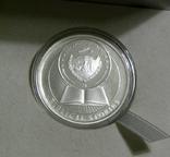 БИБЛЕЙСКИЕ ИСТОРИИ - Адам и Ева - серебро, 2 доллара Палау, фото №4