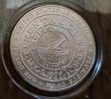 США 1 доллар 2006 г. 300-летие Бенджамина Франклина 1706-2006 гг.  Серебро., фото №3