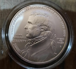 США 1 доллар 2005 г. 250-летие со дня рождения Джона Маршалла. Серебро., фото №2
