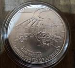 США 1 доллар 2005 г. 250-летие со дня рождения Джона Маршалла. Серебро., фото №3