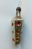 Елочная игрушка Светофор дорожный СССР 1960г., фото №2