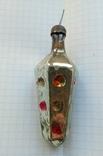 Елочная игрушка Светофор дорожный СССР 1960г., фото №3