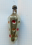Елочная игрушка Светофор дорожный СССР 1960г., фото №5