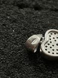 Серебряная подвеска в виде ключа, фото №3