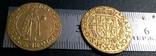 1 дукат  золотом1649  року , Польща, копія золотої не магнітний, позолота 999, фото №3