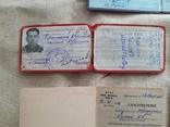Документы на военного водителя , удостоверения и т.д., фото №3