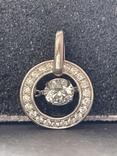 Серебряная подвеска, фото №2