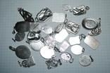 Ладанки серебро 100 грамм, фото №3