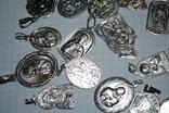 Ладанки серебро 100 грамм, фото №4
