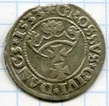 Сігізмунд 1 гріш 1533 рік м. Гданськ Данціг, фото №2