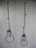 """Настенная Инсталляция """"Light Bulb"""" DritArt фото 2"""