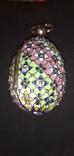 Пасхальное яйцо с финифтями, фото №6